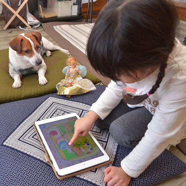俺、リカちゃんより犬アプリの方がいい。思い出pic#ジャックラッセルテリア#jackrussell #dogsofinstagram #dogslife